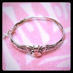 Jewelry - Guardian Angel Bangle Bracelet
